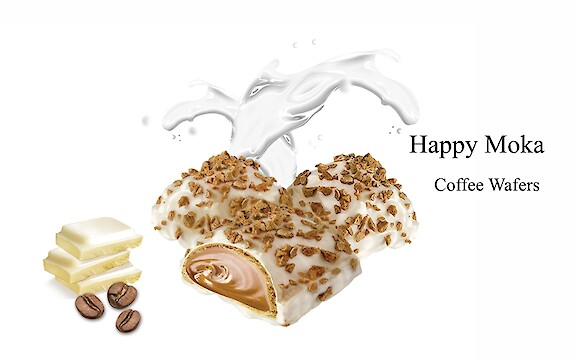 Product image of Happy Moka Coffee Wafers by Flis