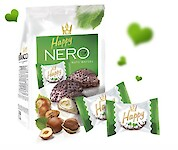 Product image of Happy Nero Nuts Wafers by Flis