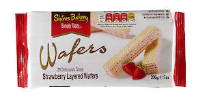 Product image of Strawberry wafers by Shires Bakery