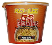 Product image of Hot & Spicy Noodles Cup by KO-LEE